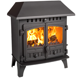 Hunter Stoves Herald 5 Slimline Multi Fuel Wood Burning Stove