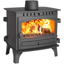 Hunter Stoves Herald 8 Double Sided SD Multi Fuel Wood Burning Stove