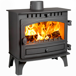Hunter Stoves Herald 8 Multi Fuel Wood Burning Stove