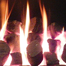Hunter Stoves Coal Effect