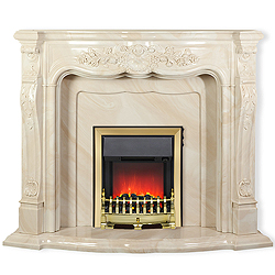 Nexis Fireplaces Aldford Onyx Fireplace Surround