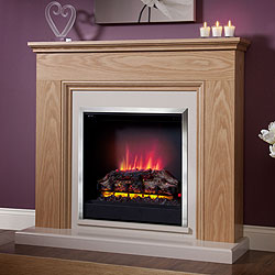 Orial Fires Jasmine Electric Fireplace Suite