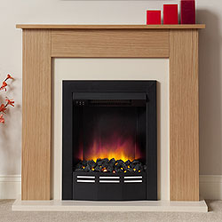 Orial Fires Sunwave Electric Fireplace Suite