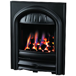 Pureglow Chloe Slimline Cast Iron Gas Fire