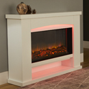 Signature Fireplaces Ohio Electric Suite Freestanding Electric Fireplace Suite