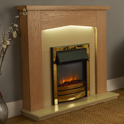 Apex Fires Traverse Brass Electric Suite