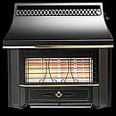 Valor Black Beauty Radiant Fireslide Gas Fire
