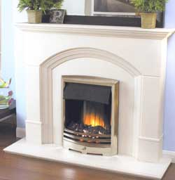 Flamerite Cascade Electric Fireplace Suite