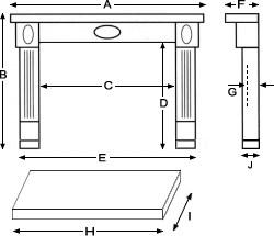 Fireplace Diagram
