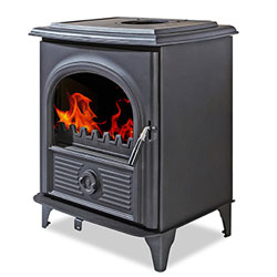 Alpha Stoves III Multifuel Woodburning Stove