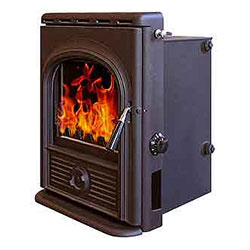 Alpha Stoves Inset Boiler Multifuel Woodburning Stove