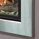 Apex Cirrus Brushed Steel Trim