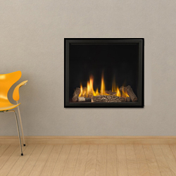 Apex Fires Cirrus X3 HE Trimless Hole in the Wall Gas Fire