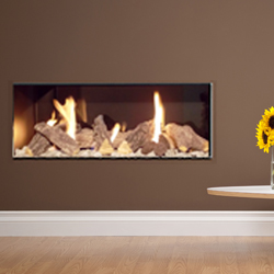Apex Fires Liberty 6 Frameless Open Fronted Gas Fire