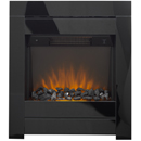 Apex Fires Lux Glass Hearth Mounted Electric Fire