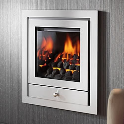 Crystal Fires Royale Open Fronted Hole in the Wall Gas Fire