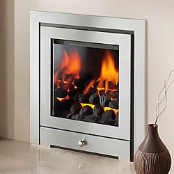 Crystal Fires Royale Glass Fronted High Efficiency Gas Fire