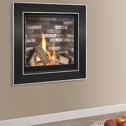 Kinder Asencio Wall Mounted Gas Fire