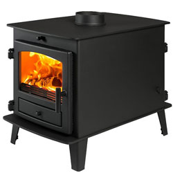 Avalon 4 Double Sided DD Multi Fuel Wood Burning Stove