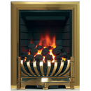 Bemodern Avantgarde Gas Fire Brass