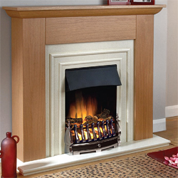 Beaucrest Rowlett Electric Fireplace Suite