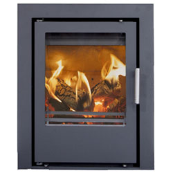 Beltane Holford 3 Sided Inset Multifuel Wood Stove