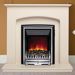 Bemodern Lusso Eco Electric Fireplace Suite