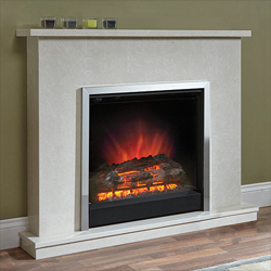 Bemodern Melissa Electric Fireplace Suite