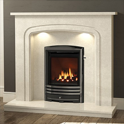 Bemodern Mirandola Plus Fireplace Surround with Downlights