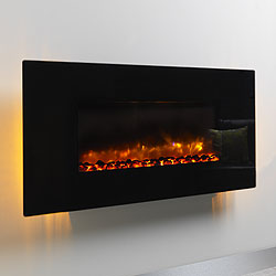 Bemodern Orlando Flat Hang on the Wall Electric Fire