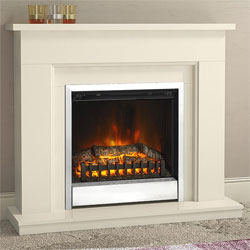 Bemodern Trowbridge Plus Electric Fireplace Suite