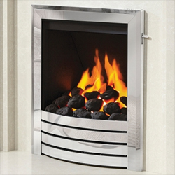 Bemodern Designer Deepline Glass Fronted Gas Fire
