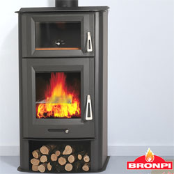 Bronpi Tudela Wood Burning Stove