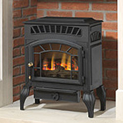 Burley Esteem 4231 Log Flueless Gas Stove