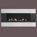 Burley Longitude 4530 Flueless Gas Fire