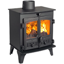 Hunter Stoves Compact 5 Multi Fuel Wood Burning Stove