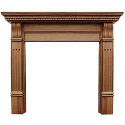 Carron Corbel 55 Solid Oak Surround