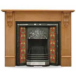 Carron Edinburgh Corbel 55 Solid Pine Surround
