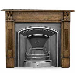Carron London Plate Cast Iron Insert