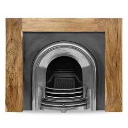 Carron Manhattan 51 Solid Acacia Surround