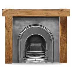 Carron New York 52 Solid Acacia Surround
