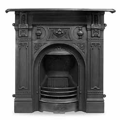 Carron Victorian Large Cast Iron Combination