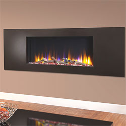 Celsi Ultiflame VR Metz Black Hole in Wall Electric Fire