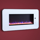 Celsi Touchflame White Electric Fire
