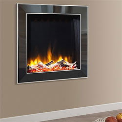 Celsi Ultiflame VR Evora Asencio Hole in Wall Electric Fire