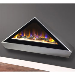 Celsi Electriflame VR Louvre Hang on the Wall Electric Fire