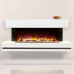 Celsi Electriflame VR Volare 1100 Illumia Electric Fireplace Suite