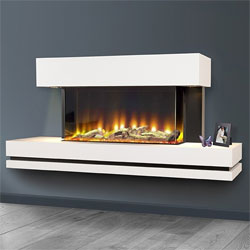 Celsi Electriflame VR Volare 750 Illumia Electric Fireplace Suite