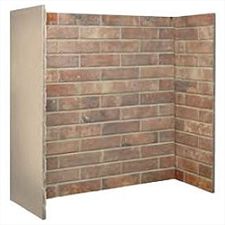Fire Depot Chamber Ceramic Red Brick Bond