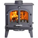 Cleanburn Norreskoven Traditional Multi Fuel Wood Burning Stove